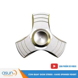 Con Quay Giảm Stress Trinity3 Cánh Nhôm Hand Spinner - Fidget Spinner