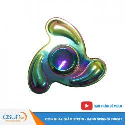 Con Quay Giảm Stress Boomerang 7 Màu Rainbow Hand Spinner - Fidget Spinner