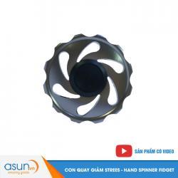 Con Quay Giảm Stress Gear Nhôm Hand Spinner Xám - Fidget SPinner