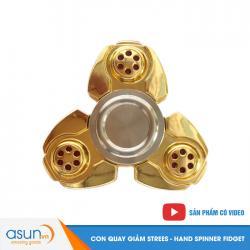 Con Quay Giảm Stress Spaceship 3 Cánh Vàng Hand Spinner - Fidget Spinner