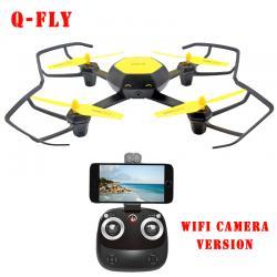 Máy Bay Điều Khiển 4 Cánh UFO W606-6 Huajun Camera Wifi FPV