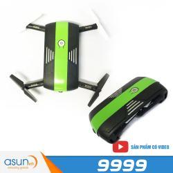 Máy Bay Điều Khiển Flycam Pocket 9999 Wifi Camera Điều Khiển Bằng Điện Thoại