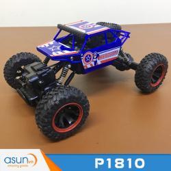 Xe  Điều Khiển Địa Hình Rock Crawler P1810 4WD Captian