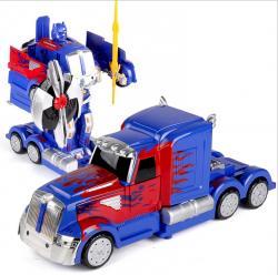 Xe Điều Khiển Robot Biến Hình 2335P Optimus Prime