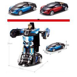 Xe Điều Khiển Robot Biến Hình Jia Qi TT663A