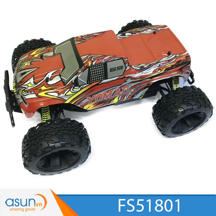 Combo Xe Xăng Nitro Điều Khiển FS RAcing FS51805 Victory X Monster Truck