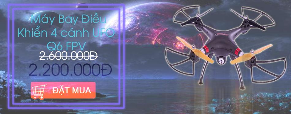 Máy Bay Điều Khiển 4 cánh UFO Q6