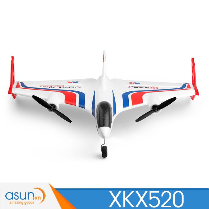Máy Bay Cánh Bằng Điều Khiển Từ Xa XK X520 3D 6G Brushless (free ship toàn quốc)