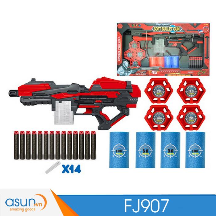Súng Bắn Đạn Xốp Soft Bullet Gun FJ907
