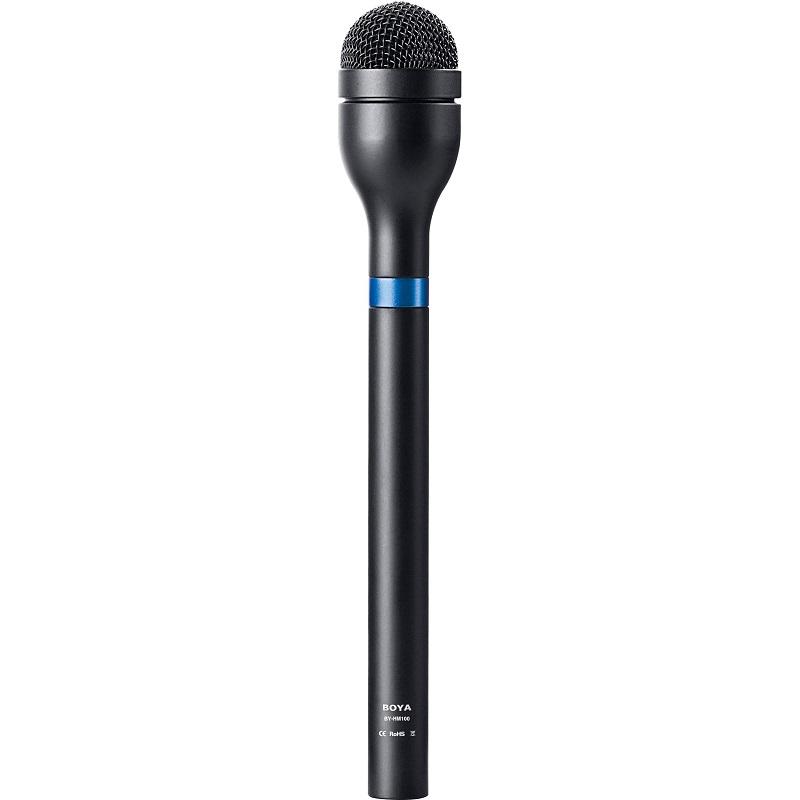 Micro thu âm phỏng vấn kỹ thuật số Boya BY-HM100