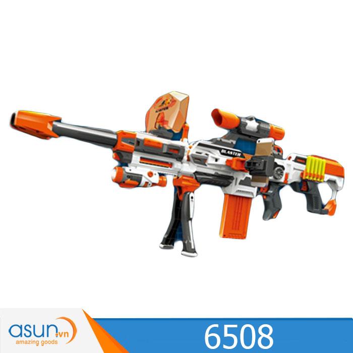 Súng Bắn Đạn Xốp Soft Gun 6508 K7018