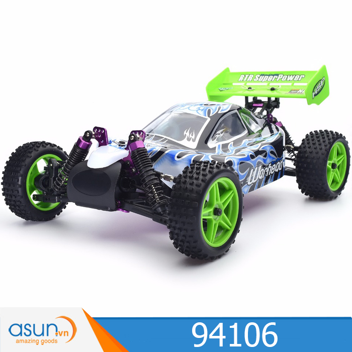 Xe Xăng Nitro Điều Khiển Buggy HSP 1:10 94106 Off Road 4WD