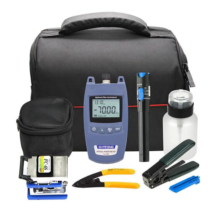 Bộ công cụ FTTH với đồng hồ đo công suất quang TL520