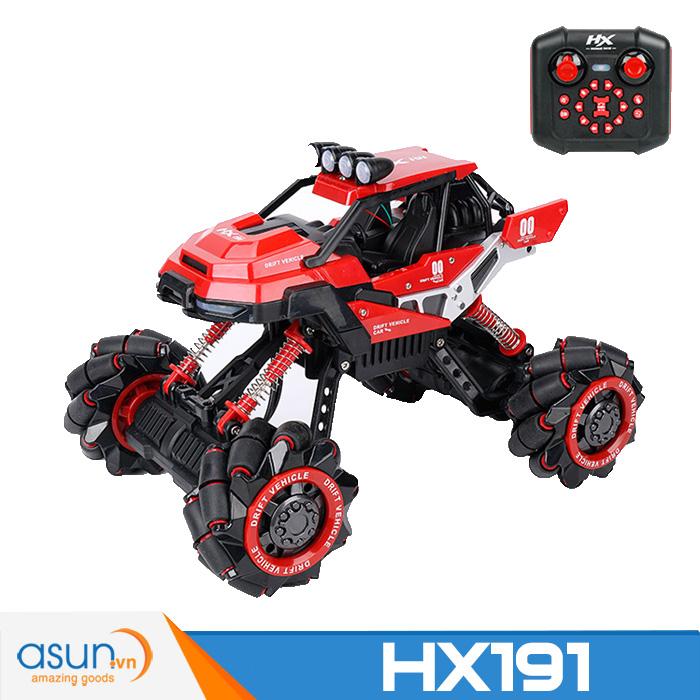 Xe Điều Khiển Địa Hình Rock Crawler HX191 Đỏ