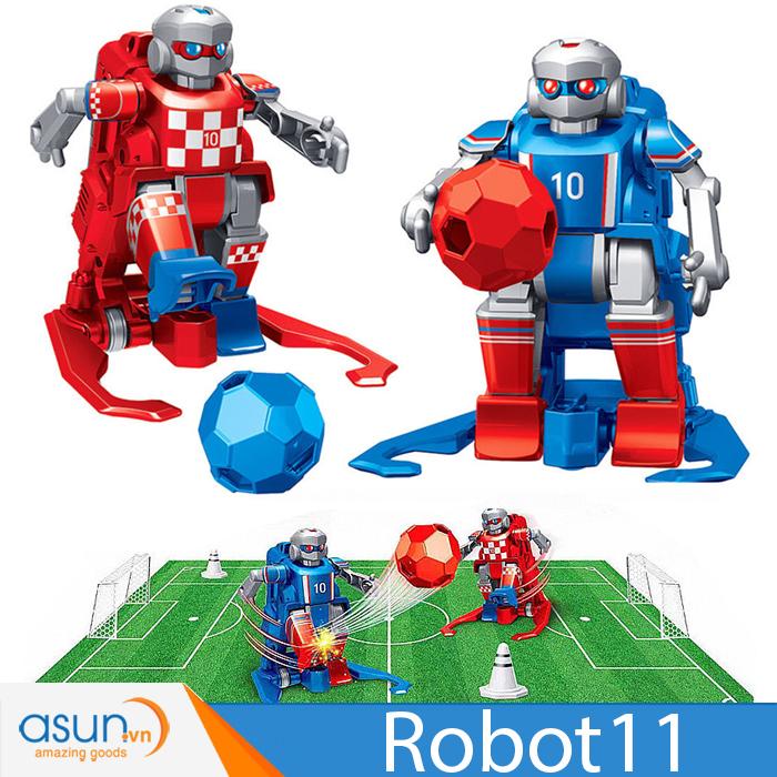 Robot Đá Banh Điều Khiển ROBOT11 Play Football Robot Có Sân Bóng Đá