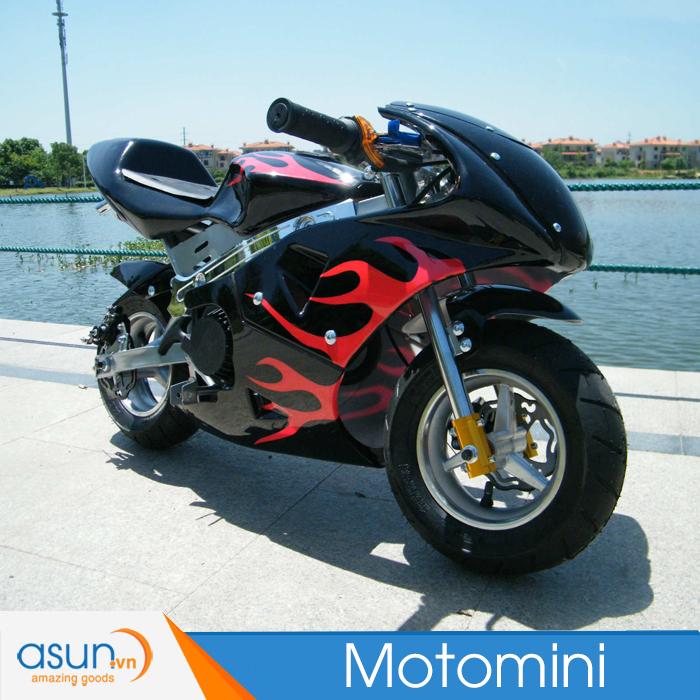 Xe Mô Tô Moto Mini Chạy Xăng Pha Nhớt Ducati