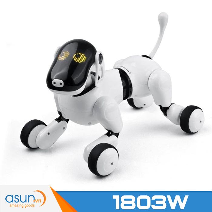 Chú Chó Robot Thông Minh AI Smart Dog Puppygo Điều Khiển Bằng Giọng Nói Kết Nối Buetooth App