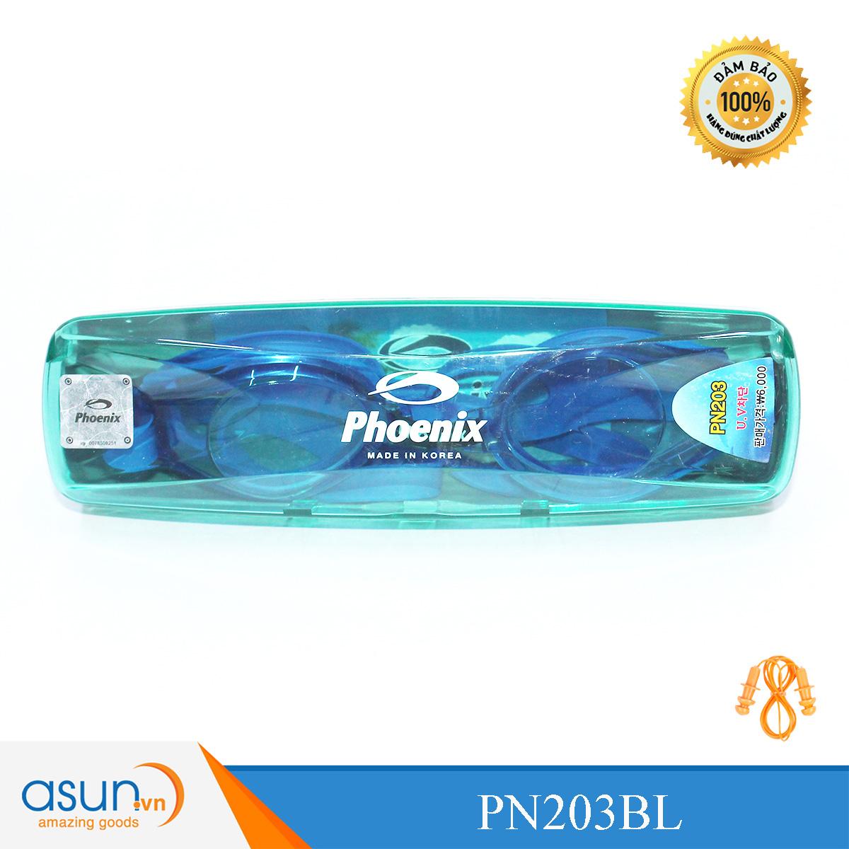 Kính bơi Phoenix Chính Hãng Màu Xanh Đậm P203BL