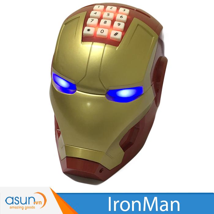Két Đựng Tiền Mini  Thông Minh Hình Siêu Anh Hùng Iron Man
