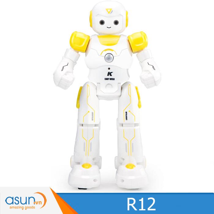JJRC R12 RC Robot USB Sạc Nhảy Múa Thông Minh Vàng