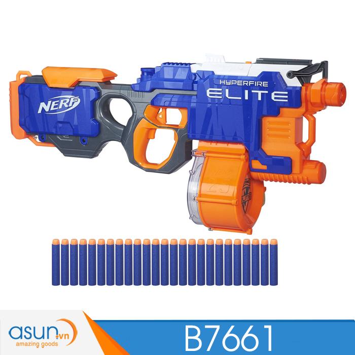 Súng NERF  HYPERFIRE N-STRIKE ELITE B7661-B5573