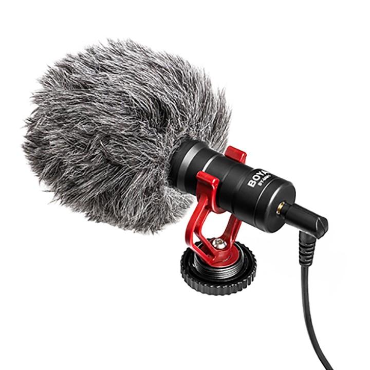 Micro thu âm kỹ thuật số Boya BY-MM1 dùng cho Smartphone và máy ảnh
