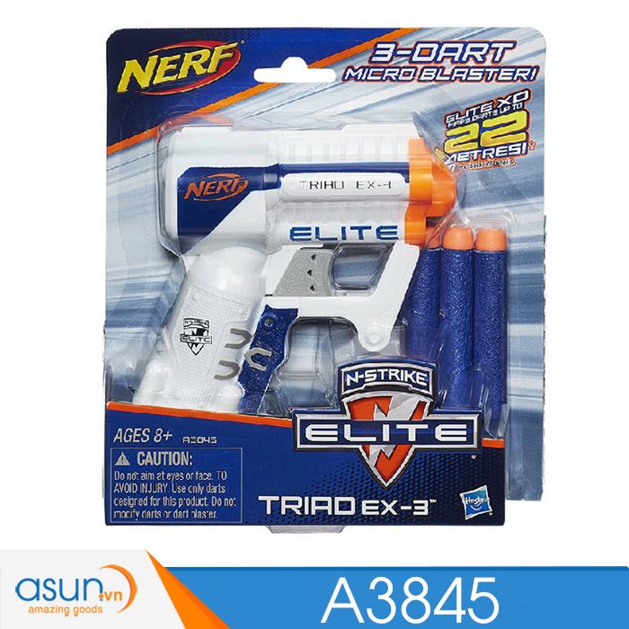Súng NERF TRIAD EX-3  N-STRIKE A3845