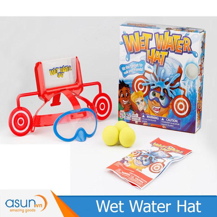 Trò Chơi Thử Thách Ném Đổ Nước Wet Water Hat