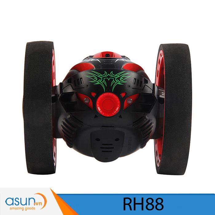 Xe Điều Khiển Từ Xa Nhún Nhảy RH88 Đỏ Vượt Địa Hình Bounce Car 2.4Ghz