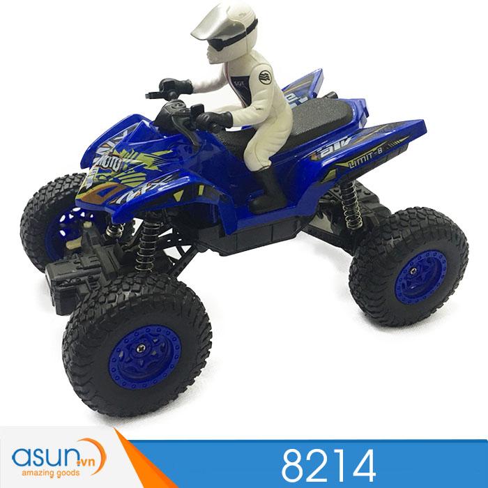 Xe  Điều Khiển Địa Hình Rock Crawler 8214 2WD xanh