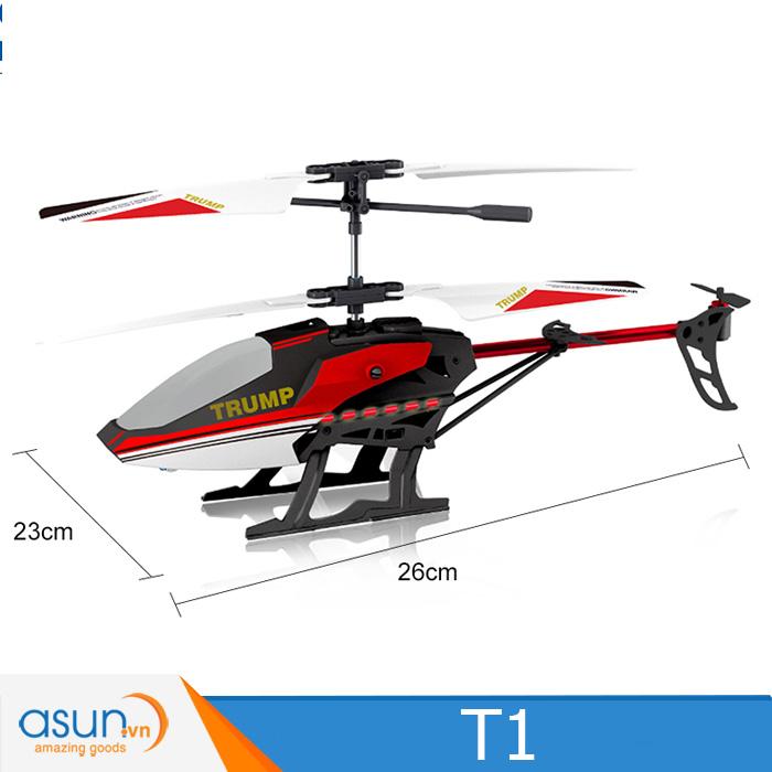 Máy bay trực thăng điều khiển Attop T1 2.4Ghz