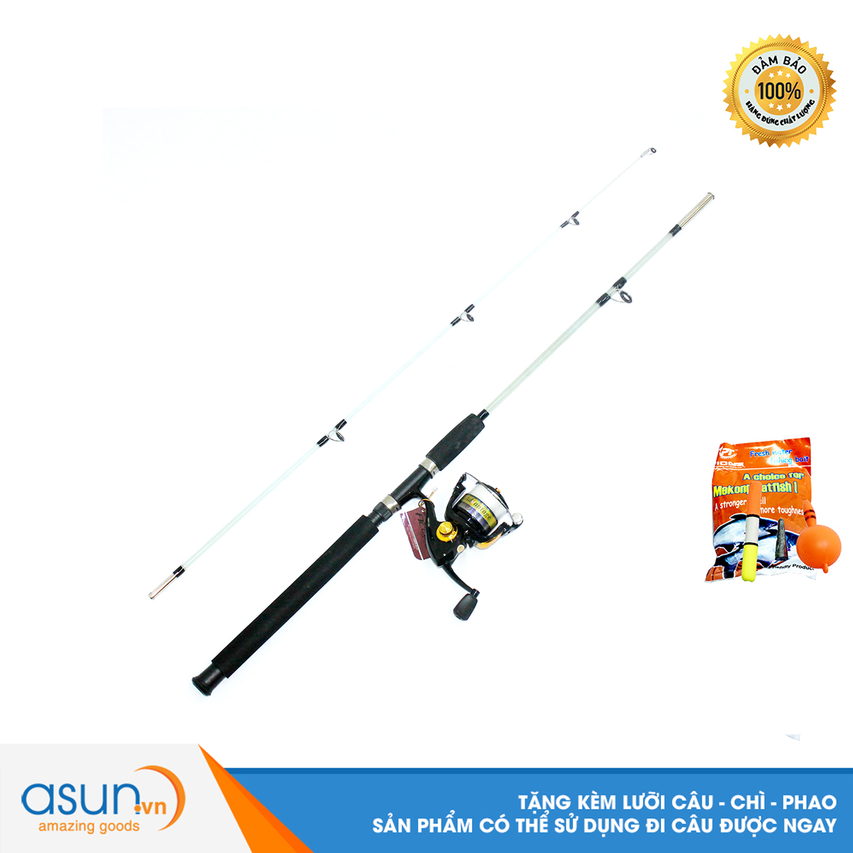 Bộ CầnCâu Cá Đặc Trong 1m8 Và Máy Câu AVT4000 - CBN89