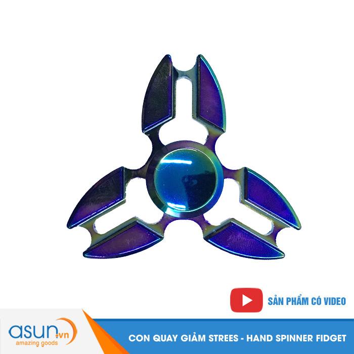 Con Quay Giảm Stress Sakura 7 Màu Hand Spinner - Fidget Spinner Hot 2017