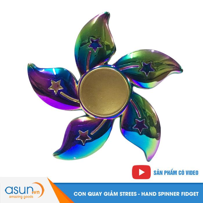 Con Quay Giảm Stress Cánh Hoa - Fidget Spinner Hot 2017