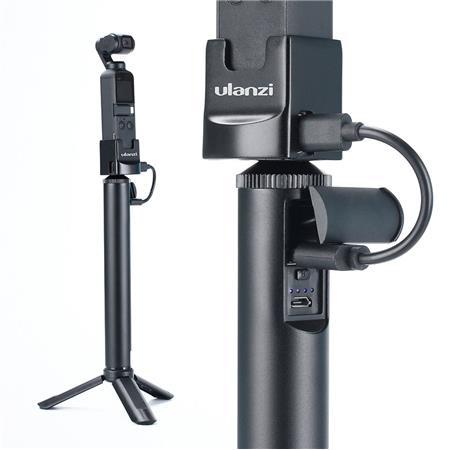 Ulanzi 2 trọng 1 Power Bank và tay cầm cho túi DJI Osmo & GoPro Hero 7 6 5 hành động 360