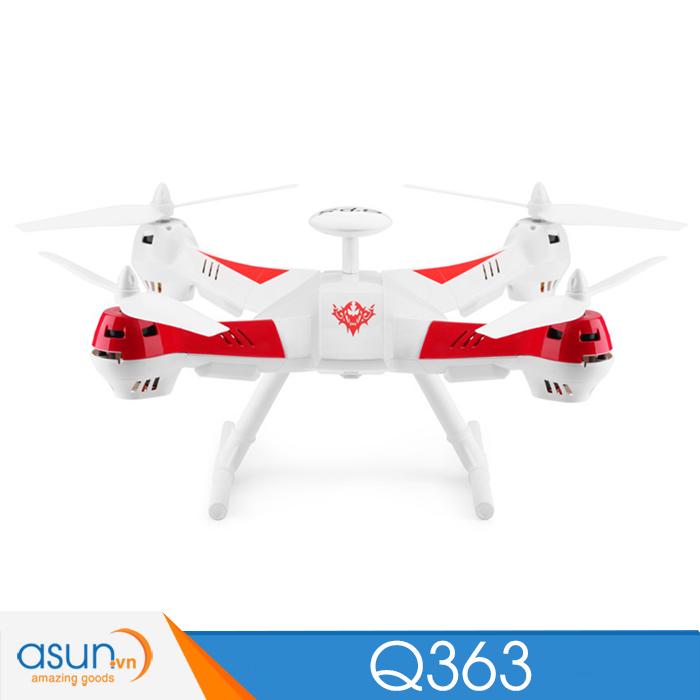Máy bay điều khiển Wltoys Q363 định vị GPS