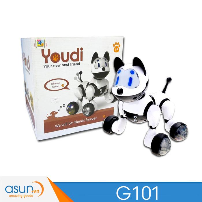 Chú Chó Robot Thông Minh Điều Khiển Bằng Giọng Nói Youdi G101