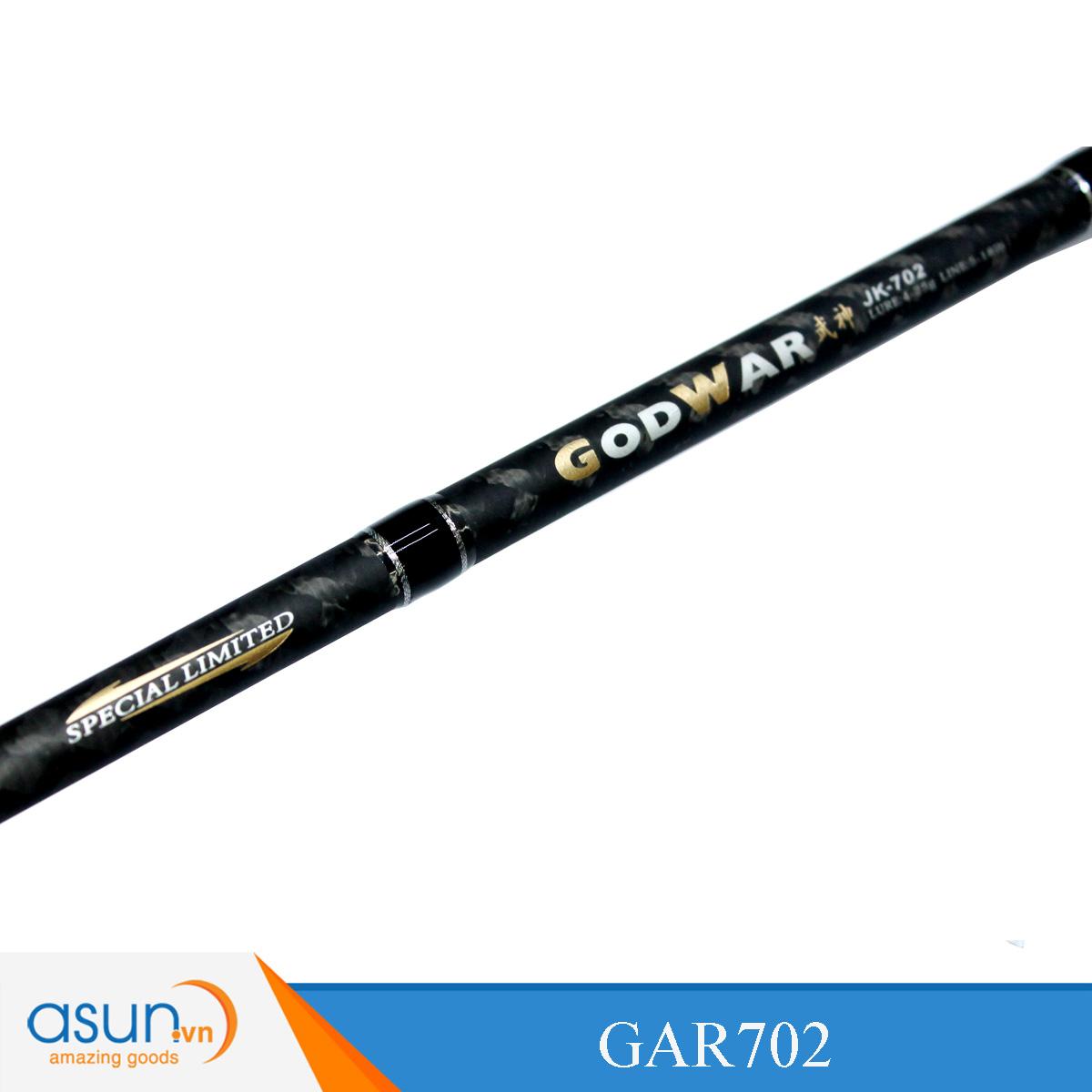 Cần Câu Đứng Hai Khúc Hai Đọt M - MH Ashino God War GAR702 - 2m1 - Chính Hãng