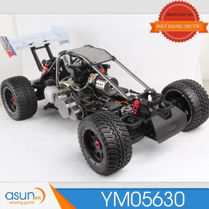 Combo Xe Xăng A92- A95Điều Khiển BAJA 30 cc 4WD nhông chuyền Full kim loại  Tỉ lệ 1-5 TT