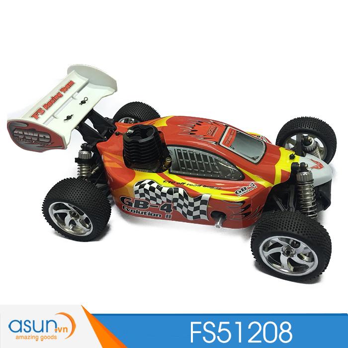 Combo Xe Xăng Nitro Buggy Điều Khiển FS RAcing FS51208 Pô kim loại