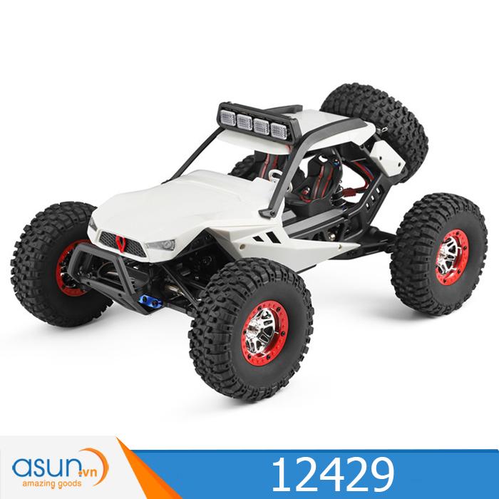Xe Điều Khiển Địa Hình Từ Xa Rock Crawler 12429 Wltoys 40 km 4WD
