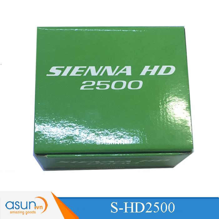 MÁY CÂU CÁ Shimano SIENNA HD 2500 BH 3 Tháng Hot 2018
