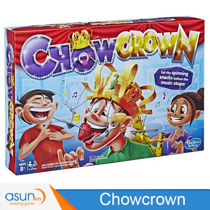 Trò Chơi Thử Thách Ăn Đồ Ăn Trên Nón Quay Chowcrown