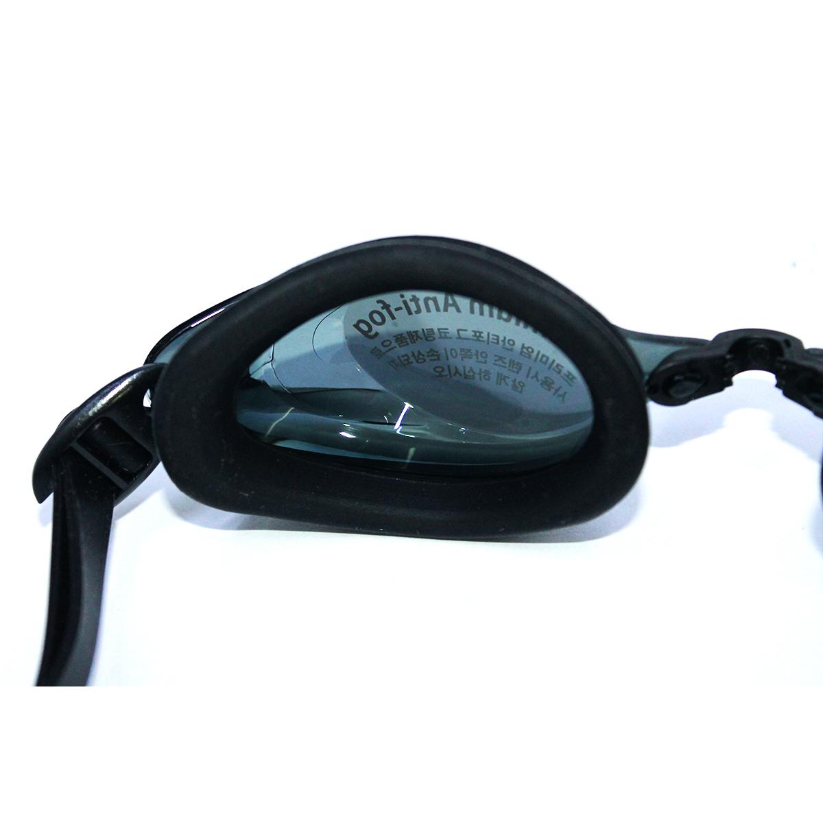 Kính bơi Phoenix chuyên nghiệp màu xanh có tráng gương PN702 màu đen P702MRBK