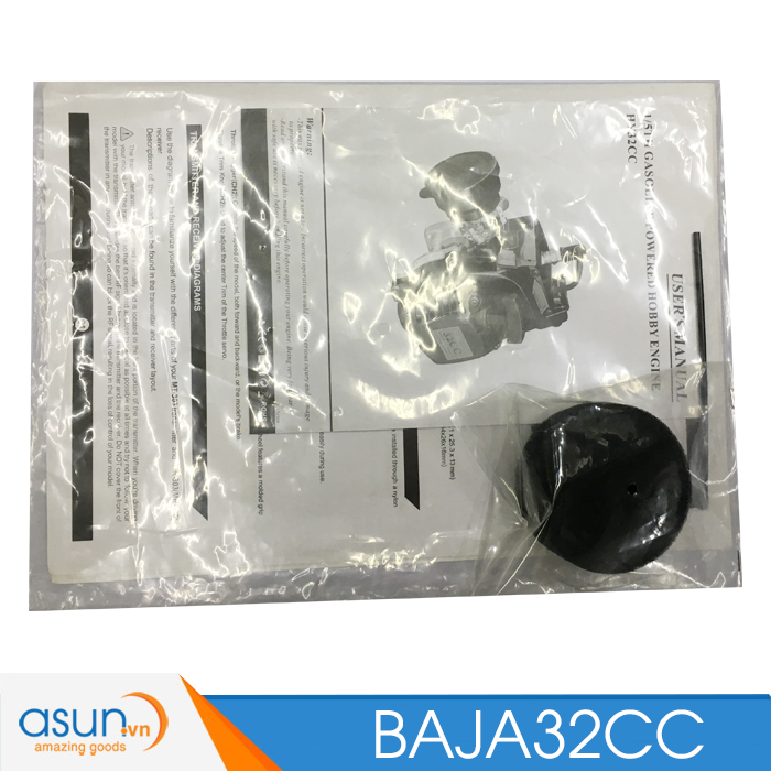 HÀNG ĐẶT TRƯỚC Combo Xe Xăng A92-A95 Điều Khiển BAJA13530 Tỉ lệ 1-5