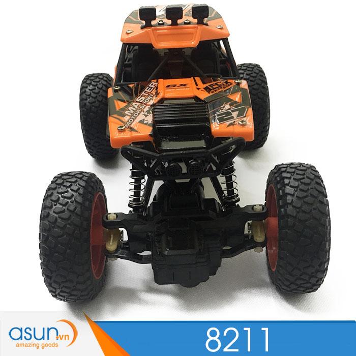 Xe  Điều Khiển Địa Hình Rock Crawler 8211 2WD Đỏ