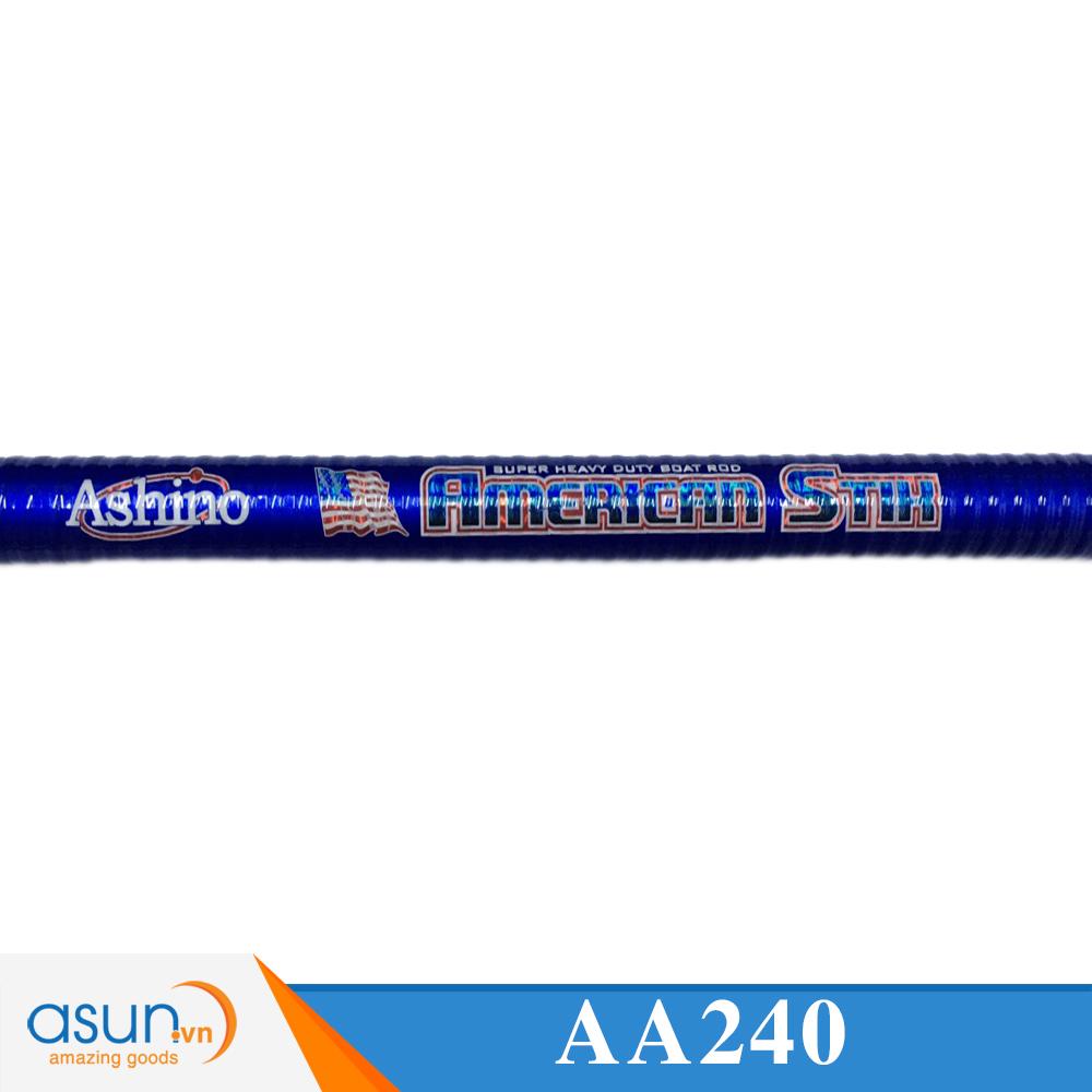Cần Câu Máy Hai Khúc Ashino American Stik 2m4 - Cần Câu Chính Hãng