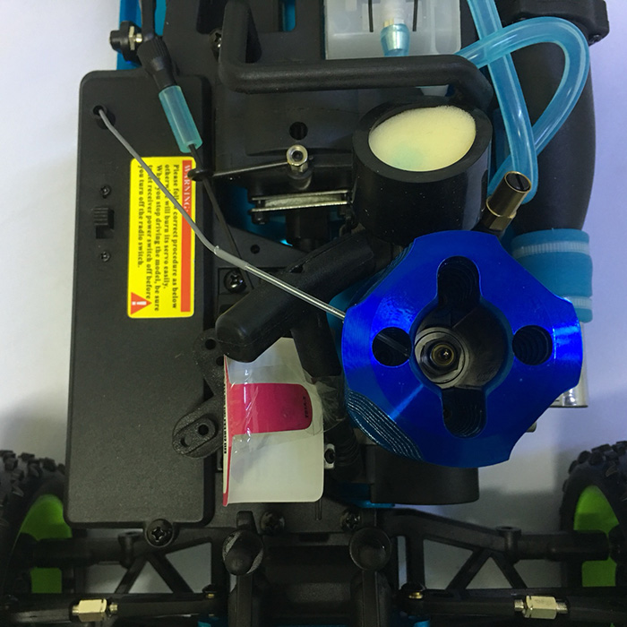 Combo Xe Xăng Nitro Điều Khiển Buggy HSP 1:10 94166 Pro Off Road 4WD Bản Nâng Cấp Máy SH