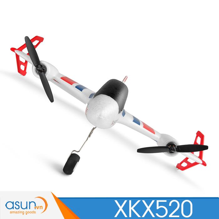 Máy Bay Cánh Bằng Điều Khiển Từ Xa XK X520 Camera FPV 5G Nâng Cấp