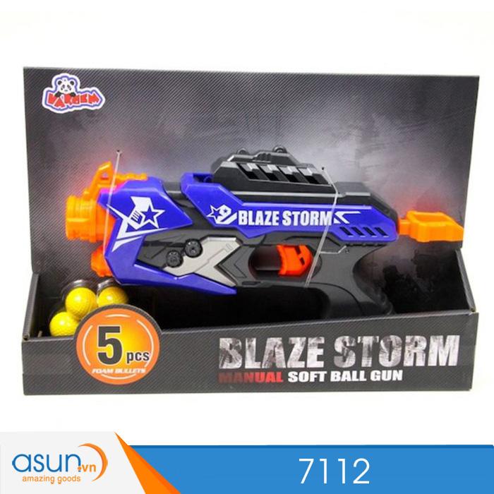 Súng Bắn Đạn Xốp Soft Gun Blaze Storm 7112